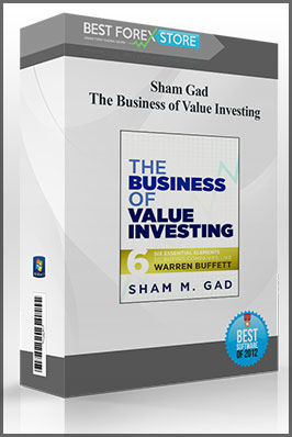 Sham Gad – The Business of Value Investing