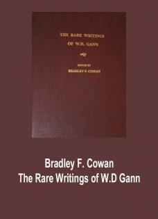 Bradley F. Cowan – The Rare Writings of W.D Gann