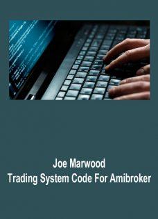 Joe Marwood – Trading System Code For Amibroker