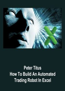 Peter Titus – How To Build An Automated Trading Robot In Excel