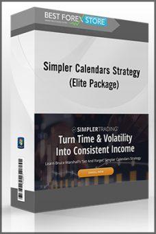 Simpler Calendars Strategy Elite Package – Simpler Trading