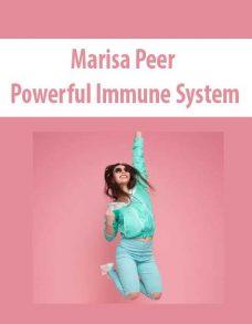 Marisa Peer – Powerful Immune System