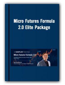 Micro Futures Formula 2.0 Elite Package – Simpler Trading