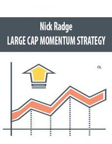 Nick Radge – LARGE CAP MOMENTUM STRATEGY
